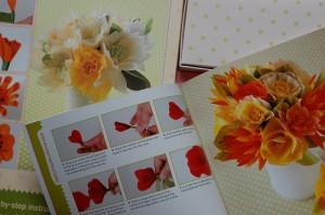 Making Paper Flowers by Laurie Cinotto